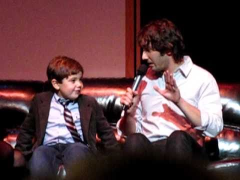 Josh Groban meets Gavin, sings with Lauren in New Haven, CT