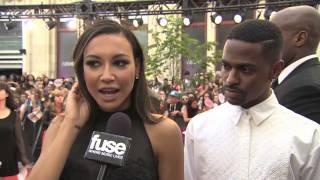 Big Sean Video - Big Sean & Naya Rivera at MMVA Red Carpet 2013