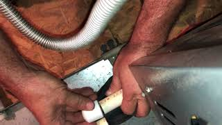 AC condensate drain issues cooling restored