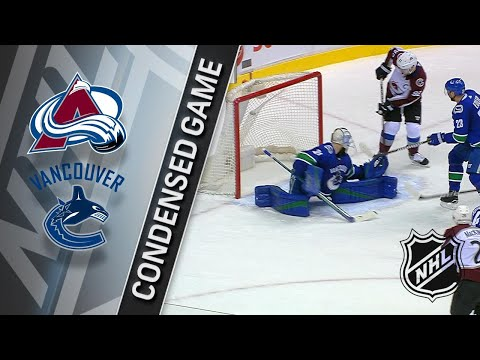 022018 Condensed Game Avalanche  Canucks