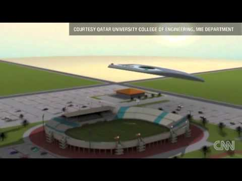 Qatar could create robot clouds to cool World Cup watchers   CNN com