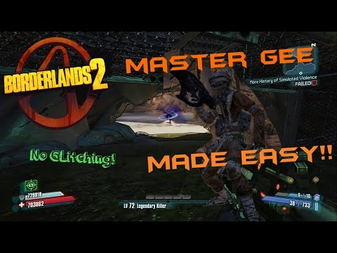 media borderlands 2 master gee invincible gunzerker solo in uvhm