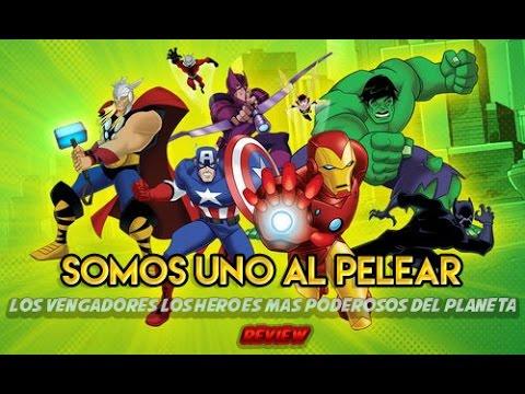 Somos Uno al Pelear - Los Vengadores Los Héroes Más Poderosos del Planeta   Review