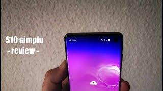 Samsung Galaxy S10 SIMPLU - review