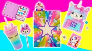 Totally Unicorns Claire's Haul 2018 Jewelry, School Supplies, Feisty Pets & More
