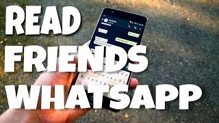 HOW TO HACK FRIENDS WHATSAPP TRICK ✓