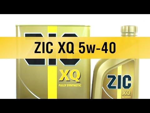 Моторное масло ZIC XQ 5w-40