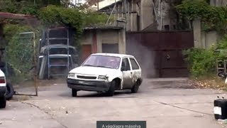 Opel Corsa drifting and CRASH by Amon Oliver