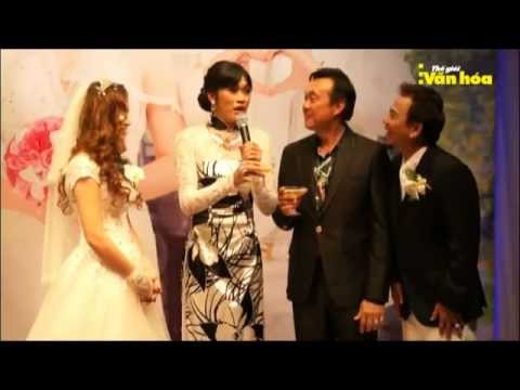 Hoài Linh Chí Tài đại diện trong tiệc cưới Hồng Tơ