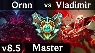 ORNN vs VLADIMIR (TOP) // Korea Master // Patch 8.5