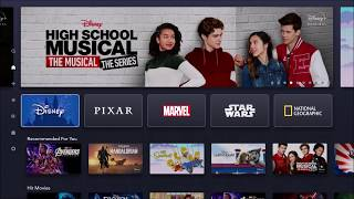 Disney+ App Preview App Walkthrough - Disney Plus Review - Disney+ Application Preview Fire TV