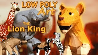Low Poly Art Animation | The Lion King Teaser Trailer