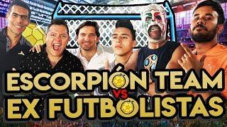 Kikín, Oswaldo Sánchez y XuxoDom VS Werever, Lapizito y Escorpión (Reto Futbolero)