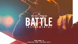 """""""Freestyle Battle"""" - Hip Hop X Rap Instrumental 2015 ( Prod: Danny E.B )"""