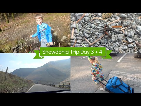 Snowdonia Mountain & Coast Trip Day 3 + 4