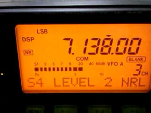 DF2DD/QRP with IC-703 & GM5XW on 40m SSB