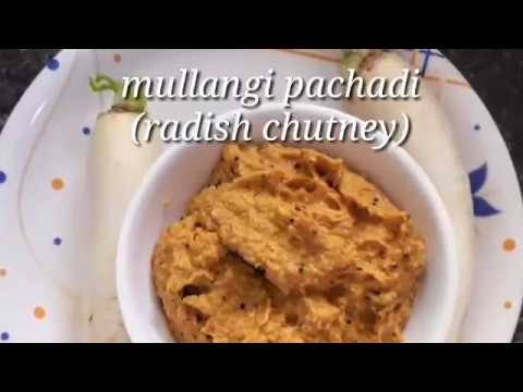 Mullangi pachadi || Radish Chutney Mi-Ma Flavours