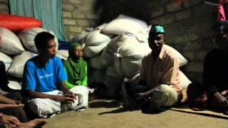 KKN NTT-04 - Upacara Penyambutan di Dusun Hento