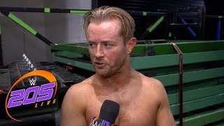Drake Maverick has no plans to continue competing on WWE 205 Live: Exclusive, July 30, 201..