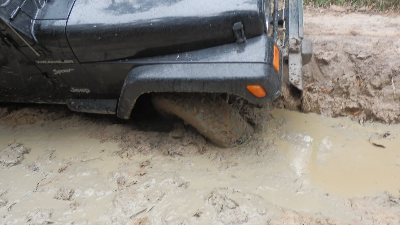 Stuck in the mud pictures Pedal Pumping and Car Stuck Gallery