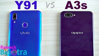 Vivo Y91 vs Oppo A3s SpeedTest and Camera Comparison