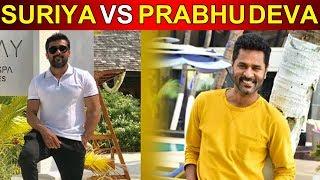 Prabu Deva compete with Surya and Dhanush