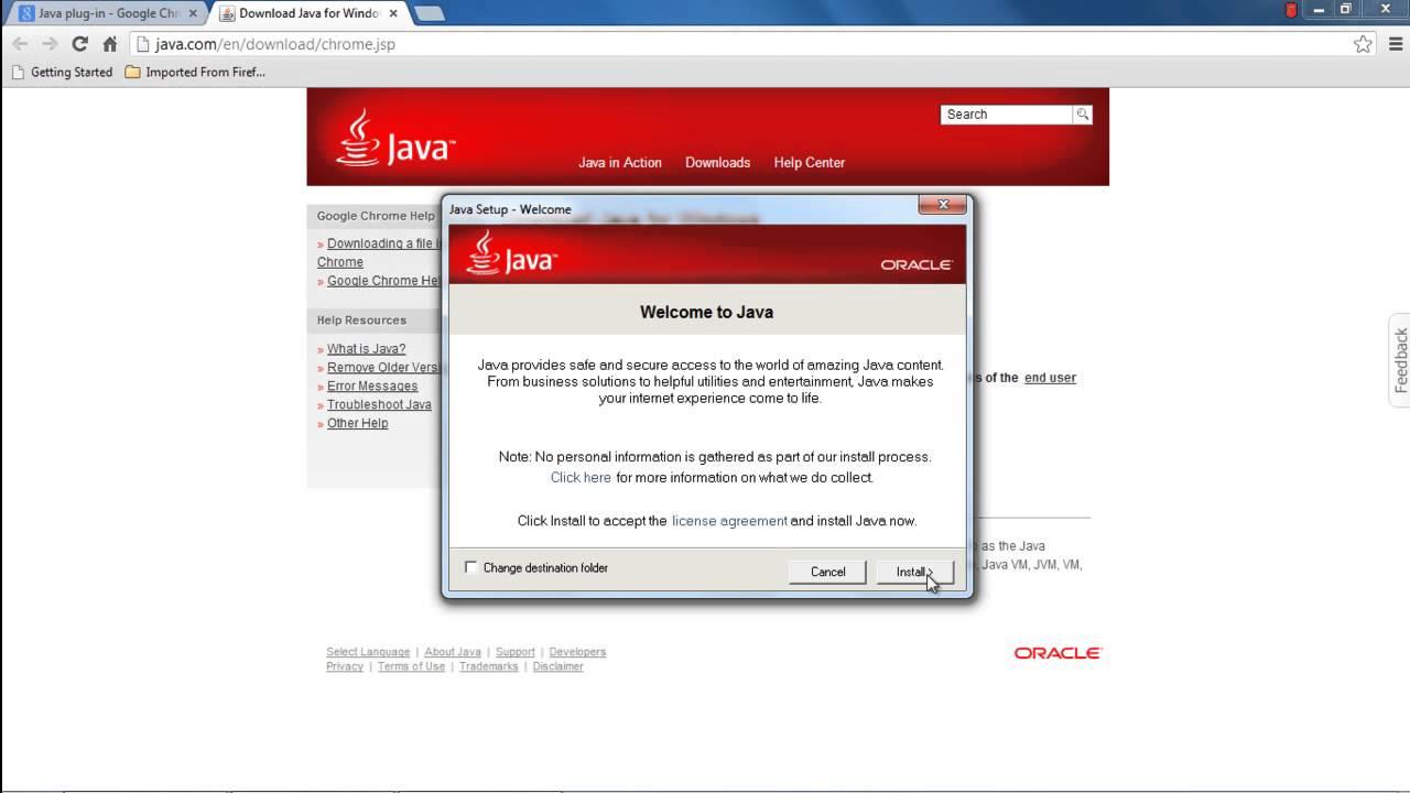 Download Chrome Java Plugin