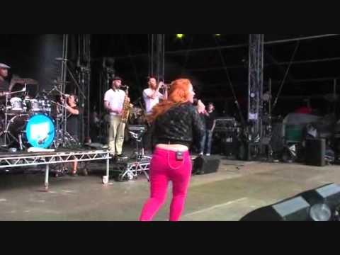 Katy B: Katy on a mission live Bestival 2011. Pro shot