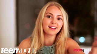 AnnaSophia Robb in Teen Vogue - The Carrie Diaries
