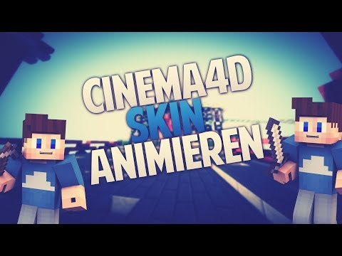 TUTORIAL | Minecraft Skin animieren | Cinema4D R12/R13 | Vineprex