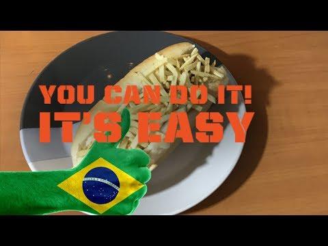 How To Make A Brazilian Hot Dog