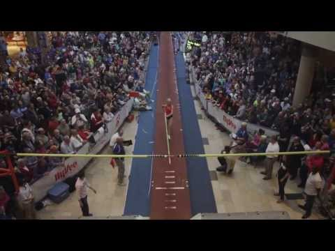 ASICS Pole Vault in the Mall 2013