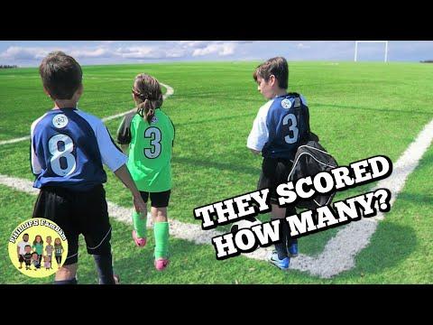 ⚽ BACK TO BACK KIDS SOCCER GAMES  ⚽ | SOCCER SATURDAY | PHILLIPS FamBam Vlogs