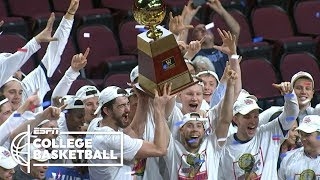 Saint Mary's upsets No. 1 Gonzaga to secure NCAA tournament spot | College Basketball Highlights