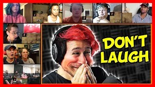 Markiplier - Try Not To Laugh Challenge #3 Reaction Mashup