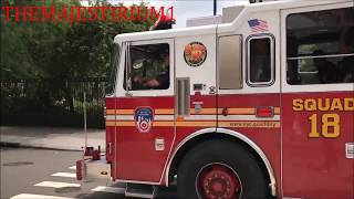 4 VIDEOS COMPILED INTO 1 OF FDNY UNITS BEING PREVENTED FROM RESPONDING BY SELFISH CARELESS DRIVERS.