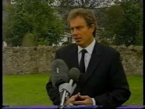 Princess Diana Bbc News 31 8 97 Part 2 Tony Blair