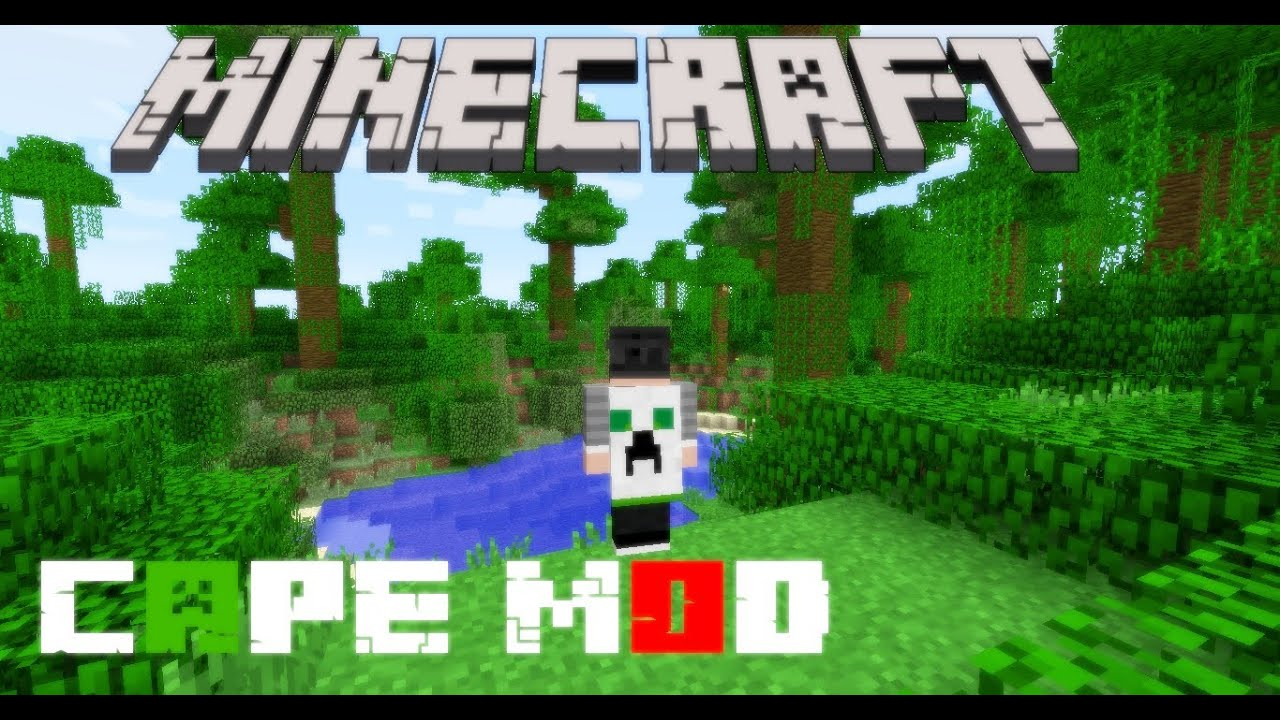 how to make a cape in minecraft