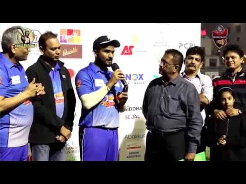 Tushar Uchil highlights of GSCPL 4 Challengers vs Chargers match