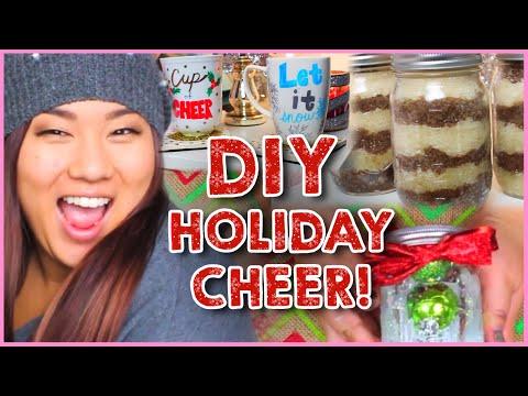 4 Easy Holiday Gift DIYs With MissRemiAshten!