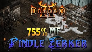 Best Pindle Runner in the Game - Pindle Zerker - Diablo 2