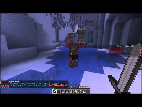 ZombieHorde! - Minecraft COD nazi zombies?? - Server Review