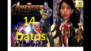 Avengers Infinity War    Expediente 14