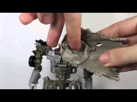 Transformers 3 DOTM Movie Voyager Megatron Review