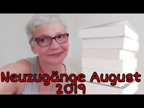 Neuzugänge Bücher August 2019/Sly´s Bücher