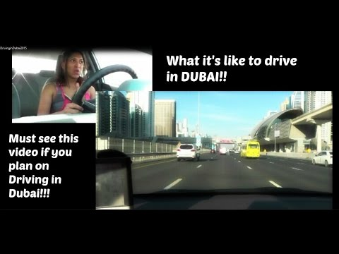 What it's like to drive in Dubai