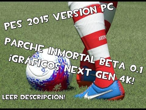 Pes 2015 | PC | Parche gráficos ultra | 4K | Beta en descripcion