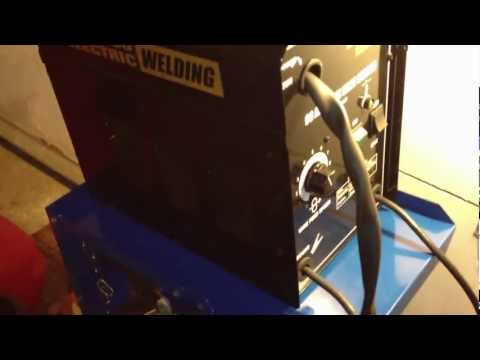 Wire Welder. 90 Amp Flux Chicago Electric Welding - Item#68887 Review Harbor Freight Tools -Part 1/3