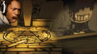 WHY EVERY MONSTER GOTTA WORSHIP THE DEVIL!? | Bendy and The Ink Machine (Chapter 1)