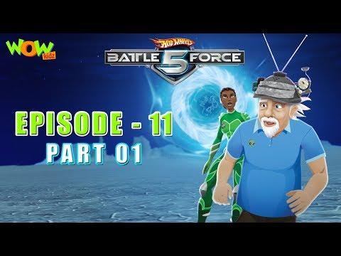 Motu Patlu presents Hot Wheels Battle Force 5 - Artificial Intelligence - Episode 11-P1 - in Hindi thumbnail